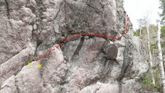 Rock Climbing Photo: Crack Pipes