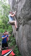 Rock Climbing Photo: Making it to the microwave