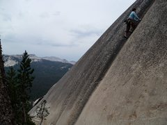 Rock Climbing Photo: Streakin'. The start of the Unnamed 10c toprope is...