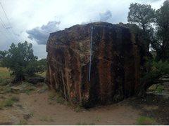 Rock Climbing Photo: Burnt Orange beta.
