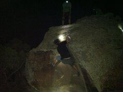 Rock Climbing Photo: Erik sending 5 Days til E.