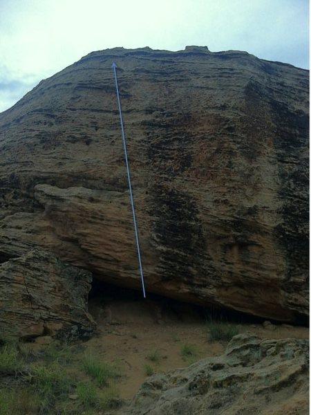 Rock Climbing Photo: Elemental beta.