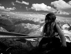 Rock Climbing Photo: Kain Route