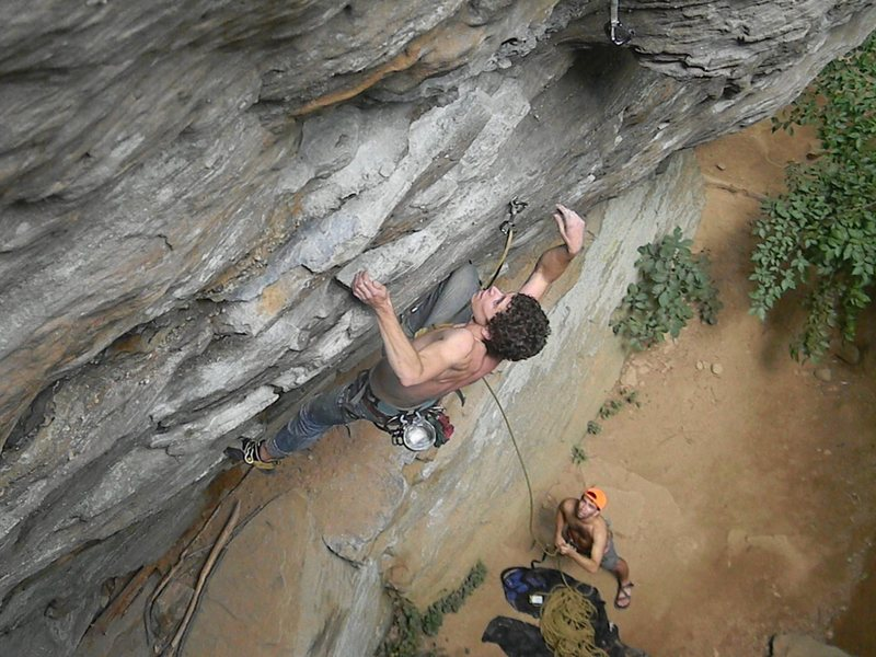 Rock Climbing Photo: Kevin Lubbers on Creep Show.