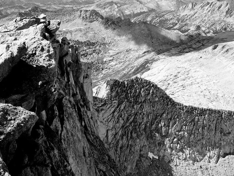 Rock Climbing Photo: View of North Ridge from the second tower