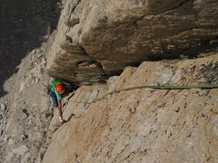 Rock Climbing Photo: Handcrack on p2