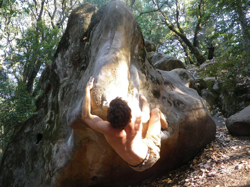 Rock Climbing Photo: Trying to come to terms with one of the more frust...