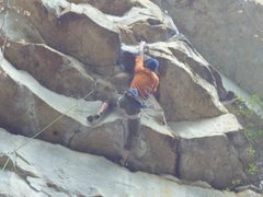 Rock Climbing Photo: Alchemy at South Clear