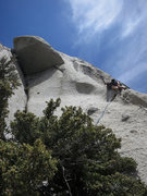 Rock Climbing Photo: The start or P2/3 (depending on how you do the sta...