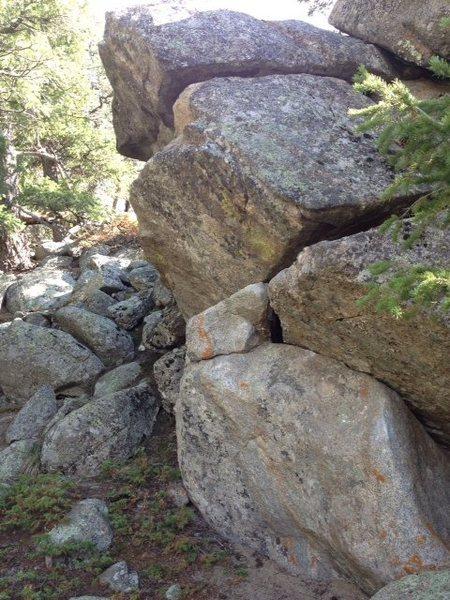Rock Climbing Photo: Jake's Problem.