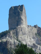 Rock Climbing Photo: View from a scramble around the west side of Chimn...