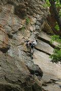 "Rock Climbing Photo: Climbing ""A brief history of climb"" 5.10..."