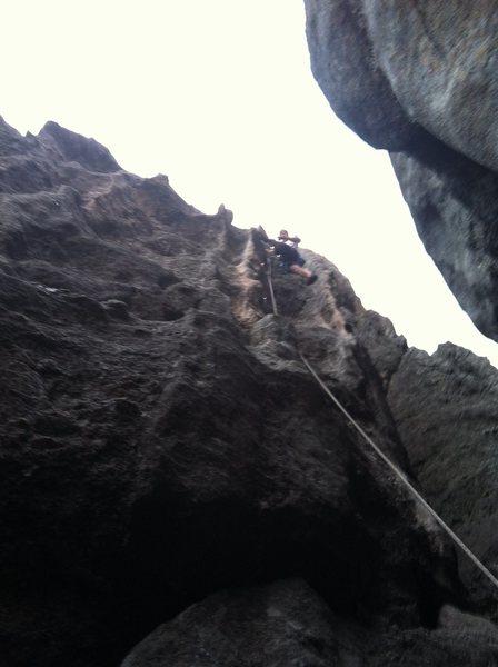 Rock Climbing Photo: Surging Wave