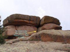 Rock Climbing Photo: TBTICM and TBLIRnR Boulder.