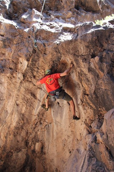 Rock Climbing Photo: Tollgate Pass, August 2013.