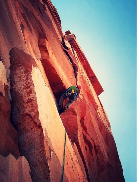 Rock Climbing Photo: 3rd ptch