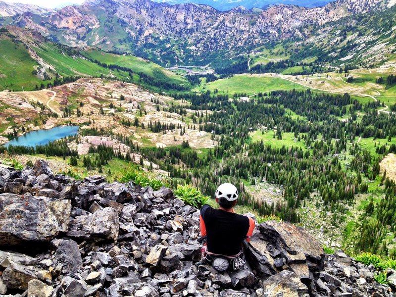 View from Top of Black Streak