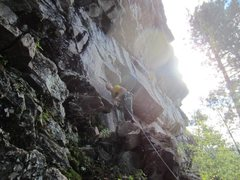 Rock Climbing Photo: Beginning of reflections. Free solo up super easy,...