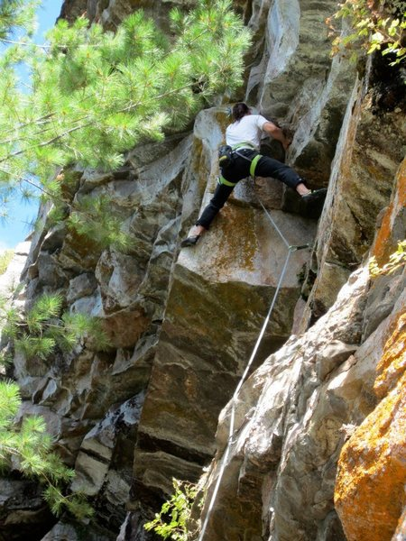 Rock Climbing Photo: Perdy
