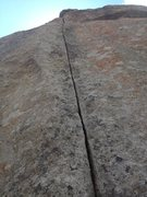 Rock Climbing Photo: Fingers up to second nuckle at the bottom.  Just f...