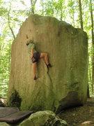 Rock Climbing Photo: Jeremy sends the Wave!