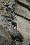 """Rock Climbing Photo: Resting on """"A brief history of climb"""""""