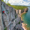 Minnesota: Climbing with a view.
