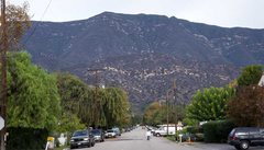Rock Climbing Photo: Shelf Ridge is the light colored band of rock. Pho...