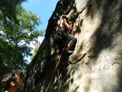Rock Climbing Photo: Opening Moves of Maria Direct