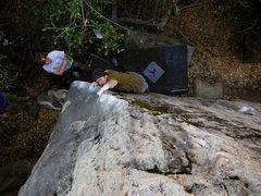 Rock Climbing Photo: Jon Hartmann on 'Mystical Weapons'.