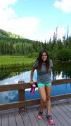 Rock Climbing Photo: Hiking Lake Solitude