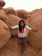 Rock Climbing Photo: Goblin Valley!