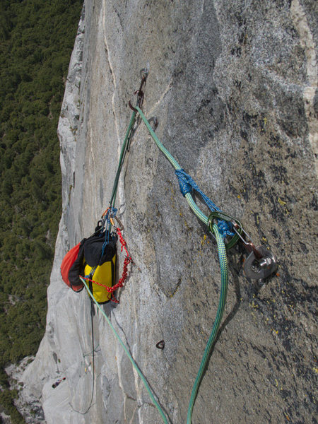Rock Climbing Photo: Klemhiest knot