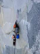 Rock Climbing Photo: See that big loop of rope?