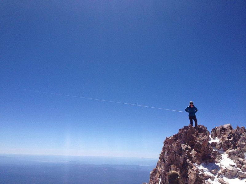Rock Climbing Photo: Shasta Summit