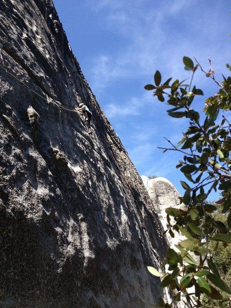 Left Crack, Dome Rock