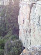 Rock Climbing Photo: Nasty Vicar.
