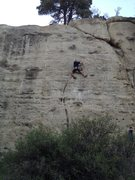 Rock Climbing Photo: Assassin.