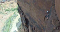 Rock Climbing Photo: Third pitch of the 5.6 Corner.
