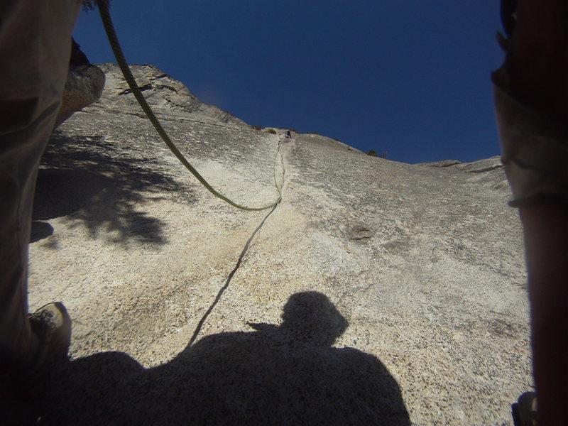 Rock Climbing Photo: Serenity Crack P1