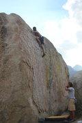 Rock Climbing Photo: sending green wall essential