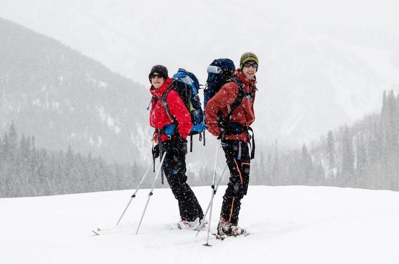 Rock Climbing Photo: Ski hut trip