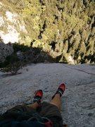 Rock Climbing Photo: 95% smearing