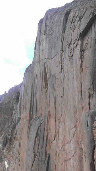 Rock Climbing Photo: Diamond!