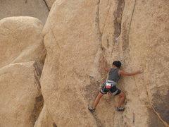 Rock Climbing Photo: Becca Corbin on Gozer.