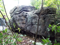 Rock Climbing Photo: Same Gritstone outside of South Fork, better view ...