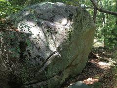 Rock Climbing Photo: Shorty's revenge start s on the flake on the right...