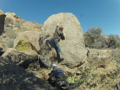 Rock Climbing Photo: V2ish problem