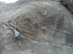 Rock Climbing Photo: Daniel Evans on Carlos Danger.