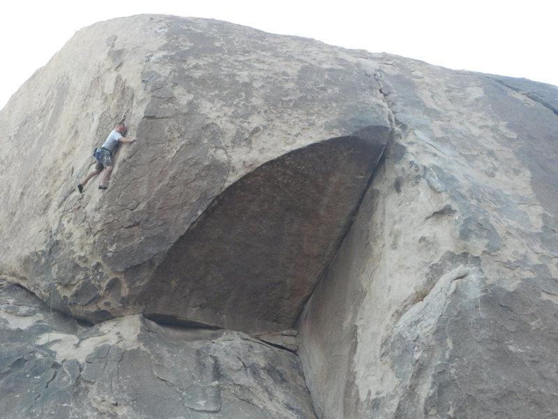 Rock Climbing Photo: Daniel Evans on Carlos Danger.